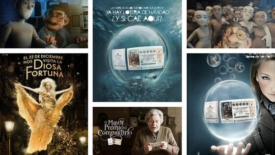 Publicites de la Loteria de Navidad