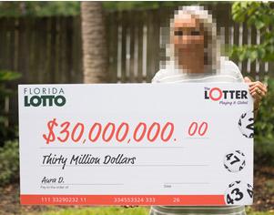 Une panaméenne gagne un jackpot de 30 millions $ au Florida Lotto