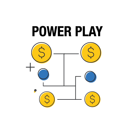 Optez pour l'option multiplicatrice Power Play et multipliez vos gains