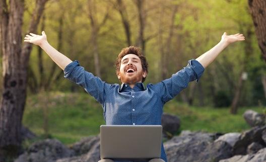 Mythe de loterie - gagner rend heureux
