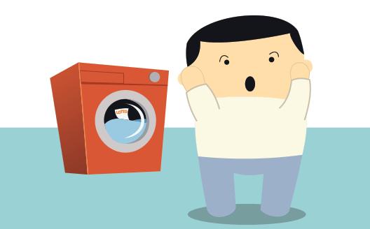 lotto ticket in a washing machine
